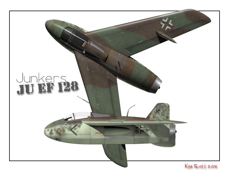 WW2 German Secret Weapons Episode 14: Junkers EF128 - Wargames Romania