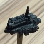 Battlefleet Gothic Scratchbuilding: Episode 2: Not Brute Ram ship anymore, but painted