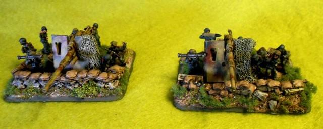 88mm FlaK cannons