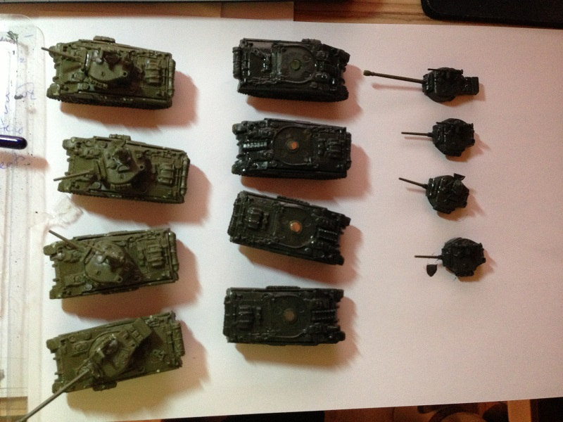Open Fire Allied Tanks Flames of War