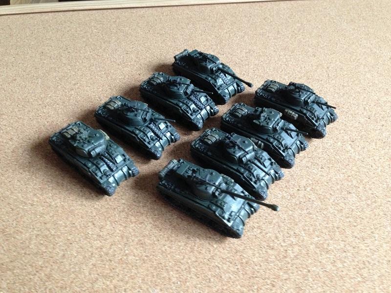 Open Fire Allied Tanks Flames of War
