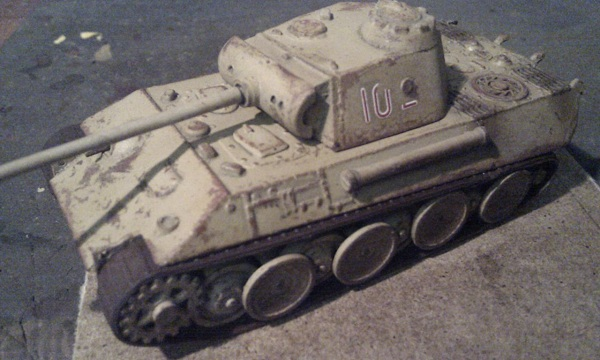Panther A by P Watson front left view