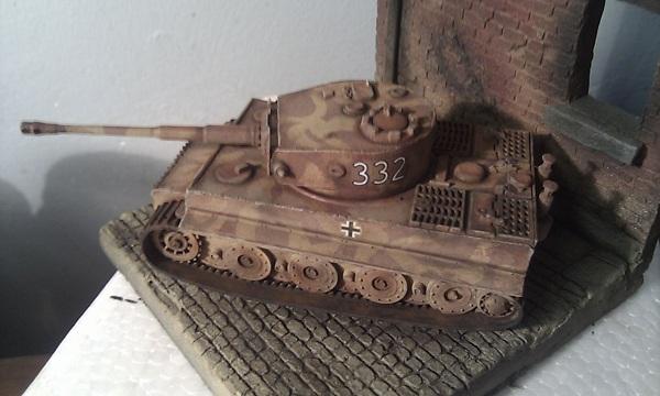Tiger model photo