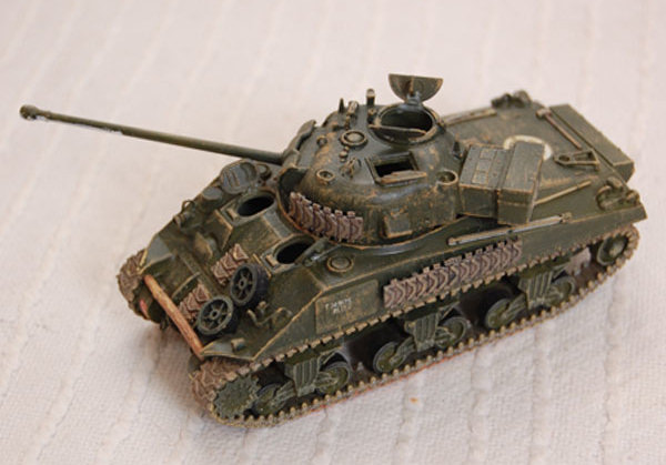 Sherman Firefly by R Tas front left view