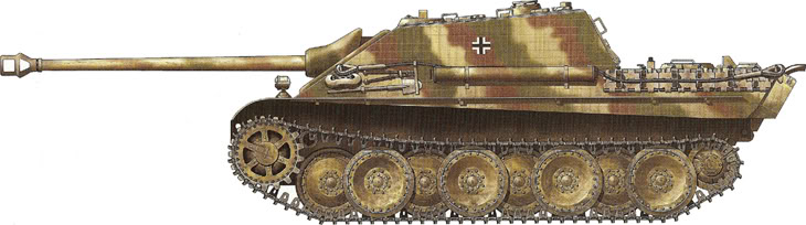German Camouflage Jagdpanther