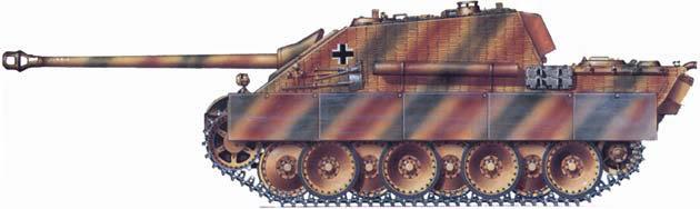 German Camouflage Jagdpanther