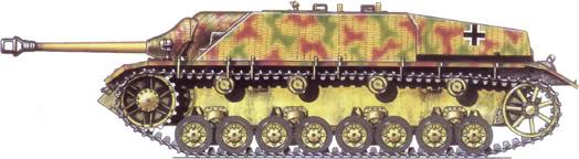 German Camouflage Jagdpanzer IV