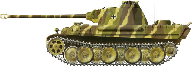 German Camouflage Panther