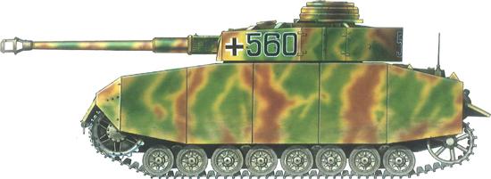 German Camouflage Panzer IV
