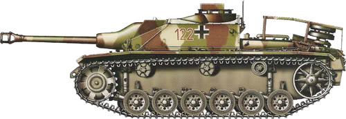 German Camouflage StuG
