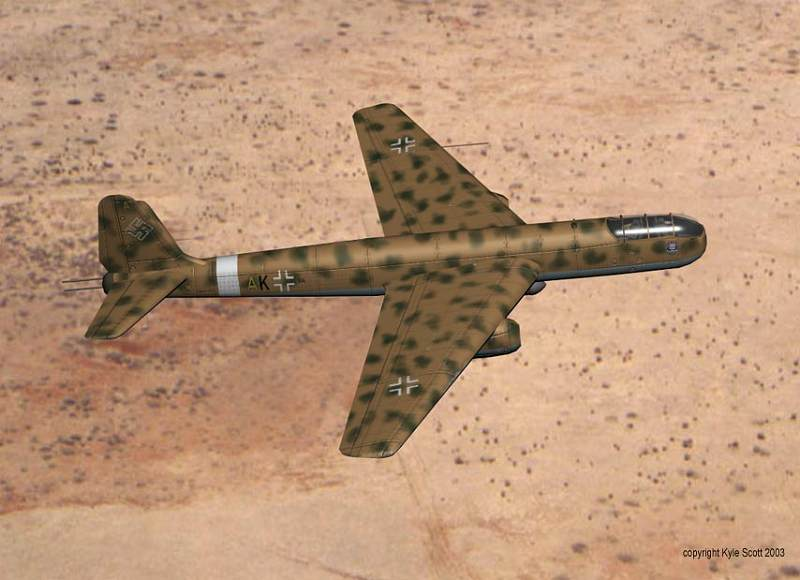 German Secret Weapons Arado Ar TEW 16/43-19