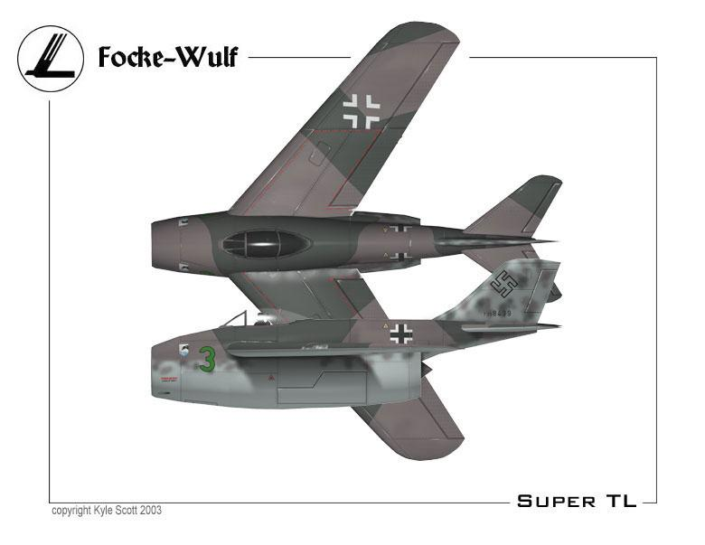 German Secret Weapons Focke-Wulf Fw