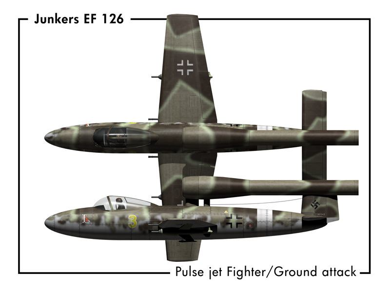 German Secret Weapons Junkers EF 126
