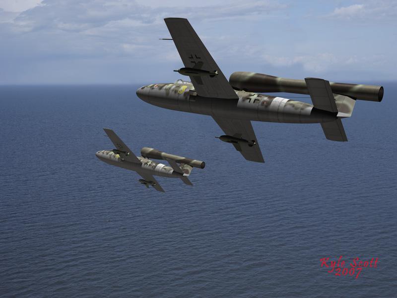 German Secret Weapons Junkers EF 126