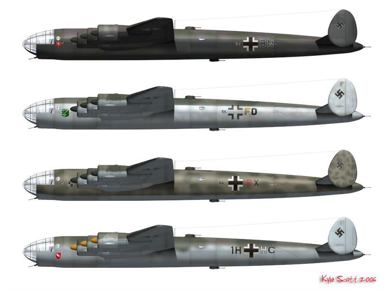 German Secret Weapons Messerschmitt Me 264/6M