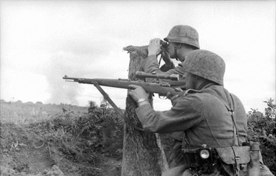German sniper.