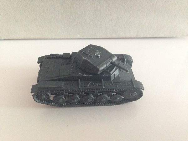 Painting Early War Panzer Grey on a Panzer II - Wargames Romania