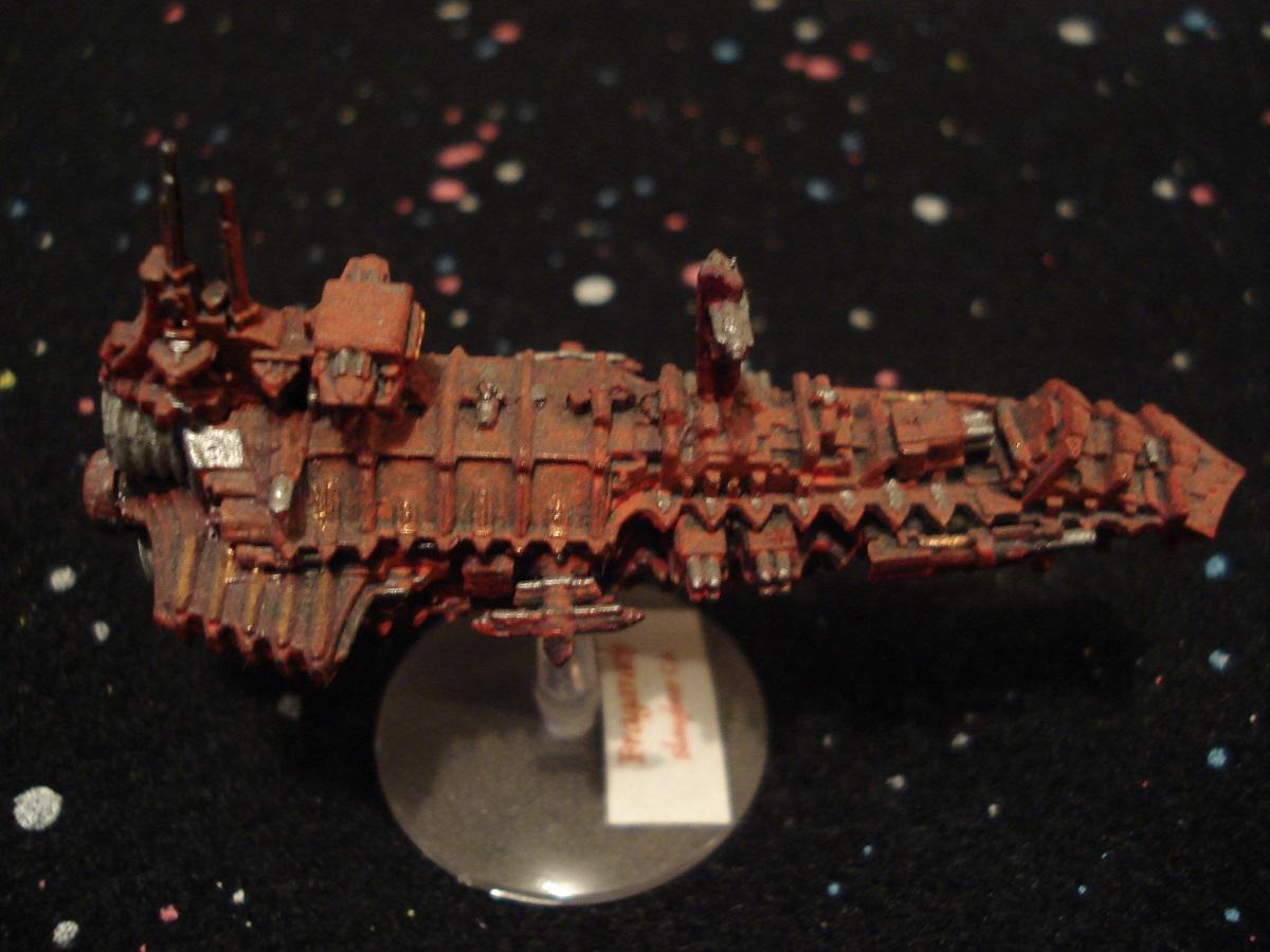 Scratchbuilding a Battlefleet Gothic Cruiser