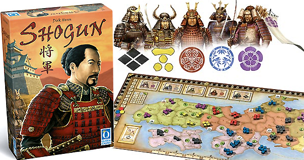 Shogun Boardgame