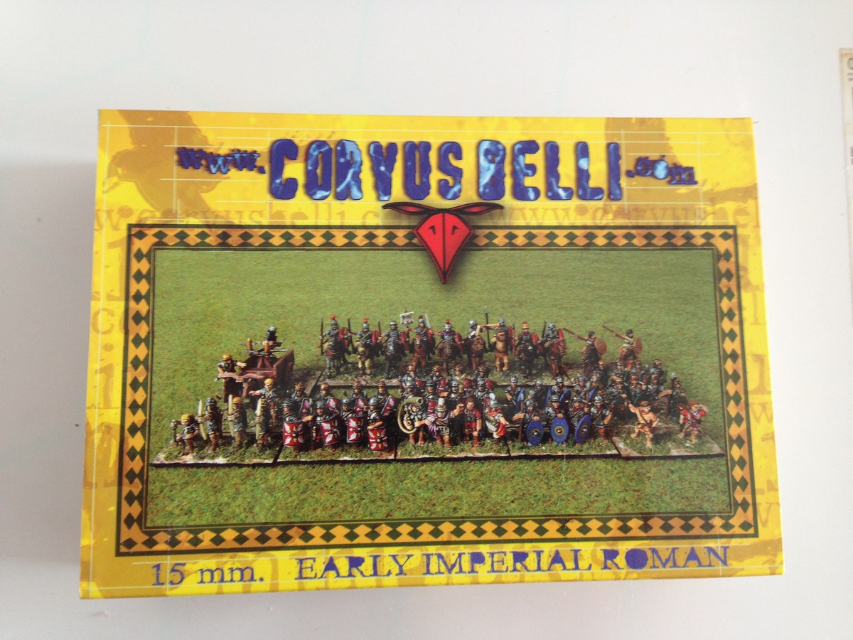 Corvus Belli 1:100 (15mm) Early Imperial Romans