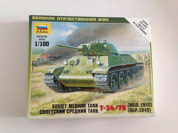 Zvezda T-34
